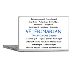 Veterinarian The All-In-One D Laptop Skins