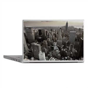 New York Skyscraper Vintage Laptop Skins