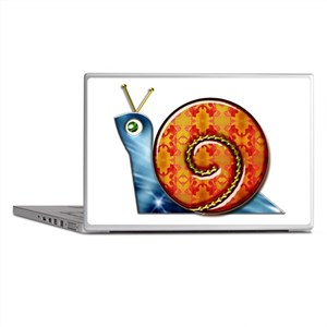 Sly Decorated Snail Laptop Skins