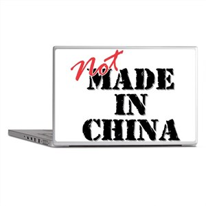 Not Made In China Laptop Skins