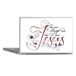 Beautiful name of Jesus Laptop Skins