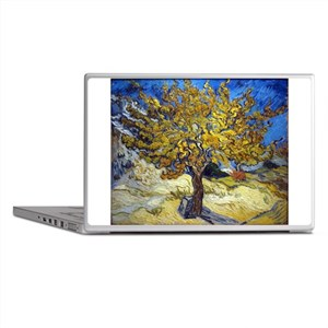 Van Gogh Mulberry Tree Laptop Skins