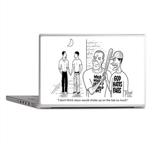 What Would Jesus Do? Laptop Skins
