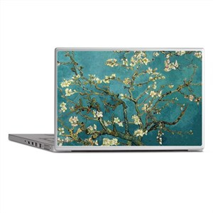 Van Gogh Almond Branches In Bloom Laptop Skins
