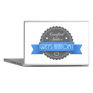 Certified Addict: Grey's Anatomy Laptop Skins