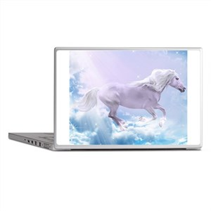 White Magic Mare Laptop Skins