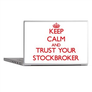 Keep Calm and trust your Stockbroker Laptop Skins
