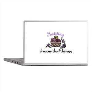 Cheaper Than Therapy Laptop Skins