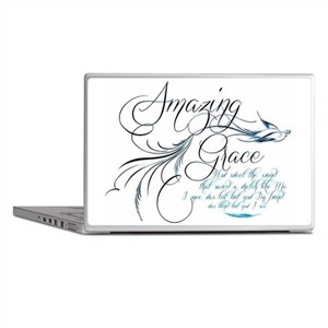 Amazing Grace Laptop Skins