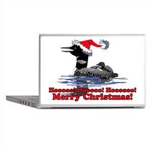 Christmas Loon Laptop Skins