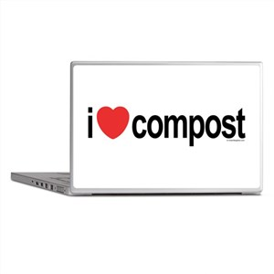 I Love Compost Laptop Skins