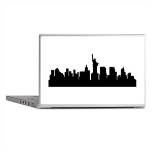 New York Cityscape Skyline Laptop Skins