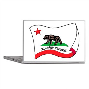 California State Flag Laptop Skins