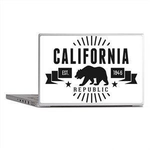 California Republic Laptop Skins