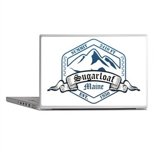Sugarloaf Ski Resort Maine Laptop Skins