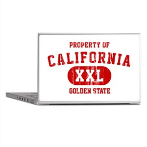 Property of California the Golden State Laptop Ski