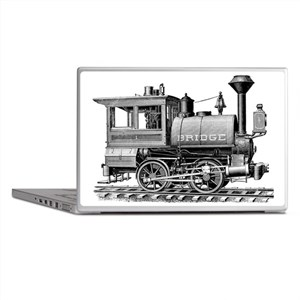 Vintage Steam Locomotive Laptop Skins