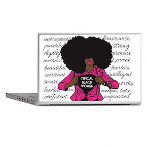 Black Girl Magic Laptop Skins Cafepress