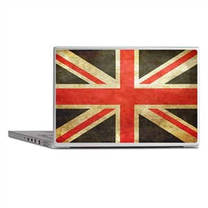 Vintage Union Jack Laptop Skins
