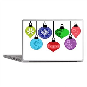 Christmas Ornaments Laptop Skins