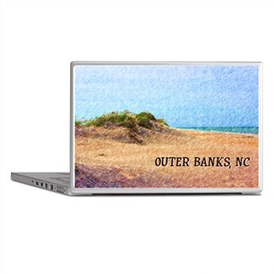 Outer Banks NC Beach Dune Laptop Skins
