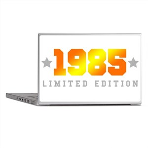Limited Edition 1985 Birthday Shirt Laptop Skins
