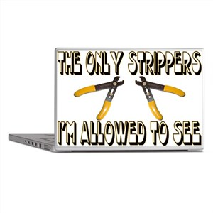 Only Strippers Laptop Skins