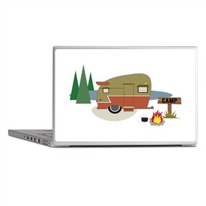 Camping Trailer Laptop Skins