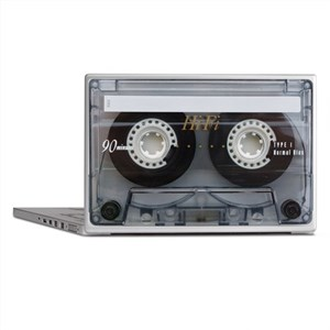 Cassette Tape Laptop Skins
