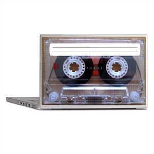Cassette Music Tape Laptop Skins