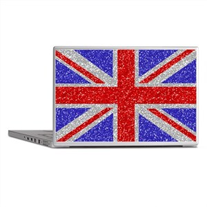 British Glam Laptop Skins