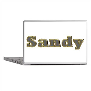 Sandy Gold Diamond Bling Laptop Skins