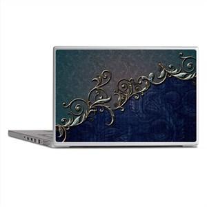 A touch of vintage, elegant floral design Laptop S