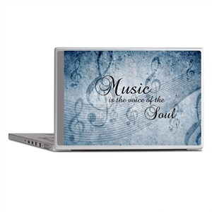 Music Voice Of The Soul Laptop Skins