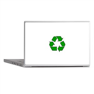 Reuse, recycle, Reduce Laptop Skins