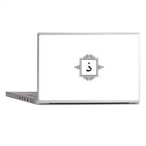 Zaal Arabic letter Z / Th monogram Laptop Skins