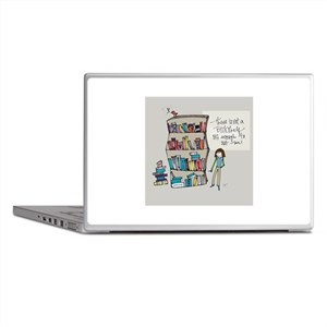 The Book Lover Laptop Skins