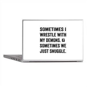 Wrestle With My Demons Laptop Skins