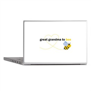 Great Grandma To Bee Laptop Skins