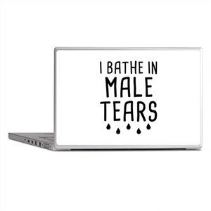 I Bathe In Male Tears Laptop Skins