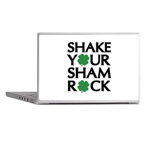Shake Your Shamrock Laptop Skins