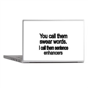 You call them swear words Laptop Skins