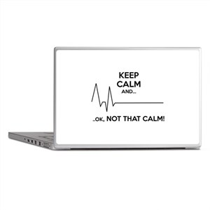 Keep calm and... Ok, not that calm! Laptop Skins