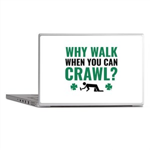 Why Walk When You Can Crawl? Laptop Skins