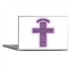 onlyjesus-purple Laptop Skins