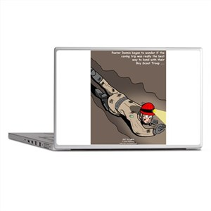 Spelunking Minister Laptop Skins