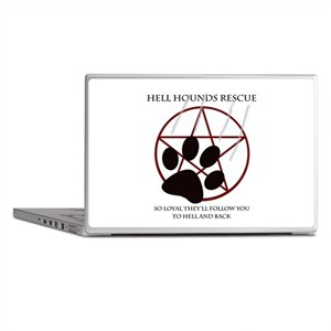 Hell Hounds Rescue wt Laptop Skins