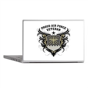 Proud Air Force Veteran Laptop Skins