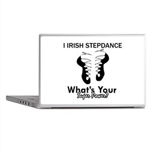 Irish Step Dance is my Superpower Laptop Skins