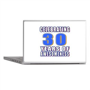 30 Years Of Awesomeness Laptop Skins